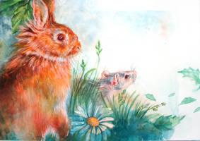 illustration Phantastes by LumiLumi