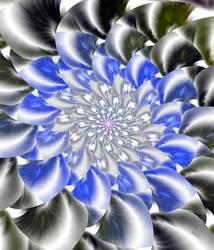 Frozen Flower by baba49
