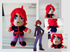 Rival Silver Plush by shazy