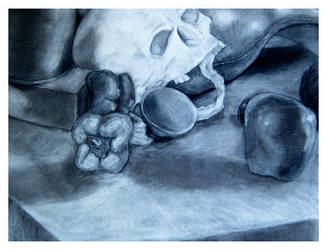 Observation Art - Charcoal by rouge11