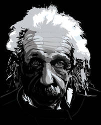 Einstein Value Portrait by rouge11