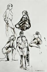 Ink gestures by rouge11