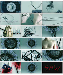 Animatic Storyboards: SAW by rouge11