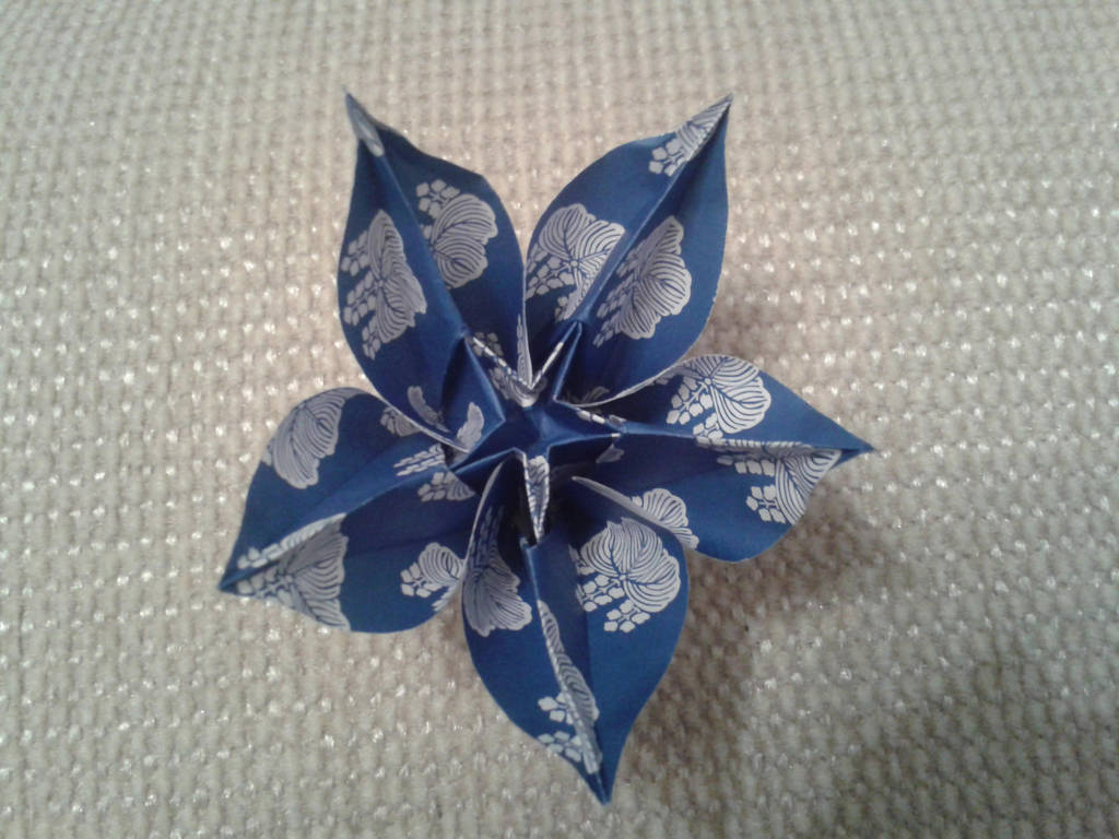 Origami Carambola Flower By Chvictoria On Deviantart