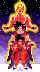 Goku by L1f3Les