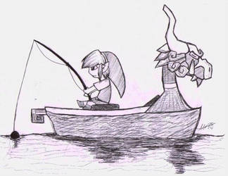 Gone Fishin' by Pyrofish