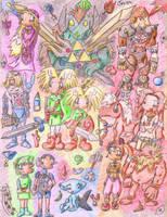 ocarina of time by Pyrofish