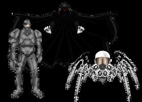 New Protectors Villains by JR19759