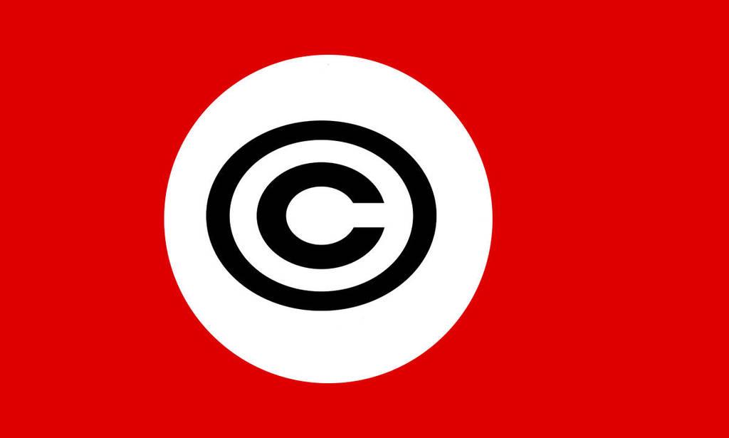 dittatura del copyright by naturalbodyartist