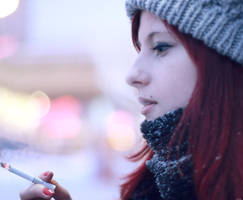 smoking again by juliguilty