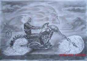 Ghost rider by miroslavk82