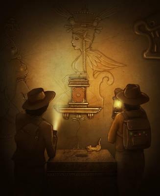 Xochiquetzal Mayan Temple by Si1verange1