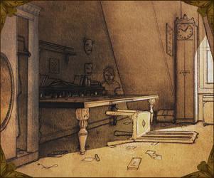 Wizard's Bedroom by Si1verange1