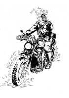 Ghost Rider by jonasvictor