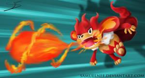 Simisear's Flame Burst by samuelnff