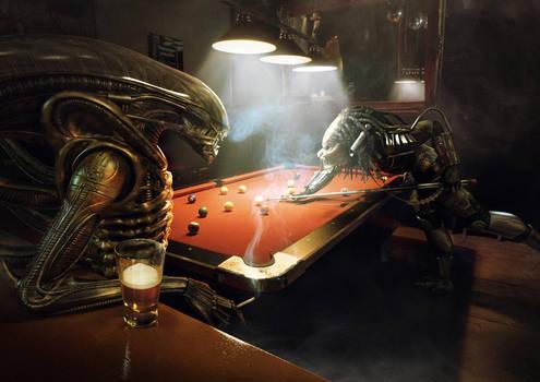 Alien Vs Predator: Pool by Xidon