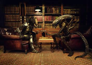 Alien Vs Predator: Chess by Xidon