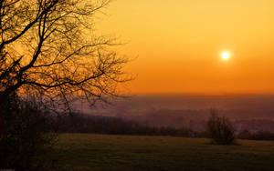 sunset by darkdoomer