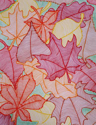 Autumn Leaves by queenofhearts1491