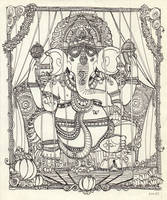 ganesh by gribouille