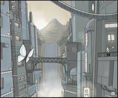 LastSun City - 2 by gribouille