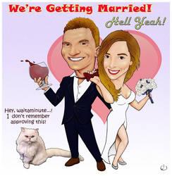 Wedding Invite by itz-art