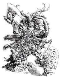 Sessair Warrior by vikingmyke