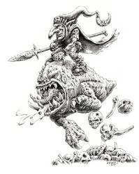 Night Goblin Squig Hopper by vikingmyke