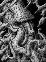 Cthulhu by vikingmyke