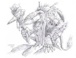 Troll Sketch by vikingmyke