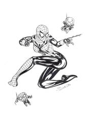 SpiderGirl by BassP-illustrations