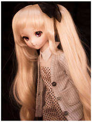 Kiseki - Polka Dot Dress by Wieselhead