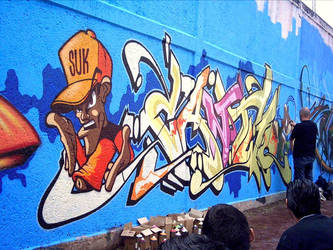 Cantwo in Mexico by GraffMX