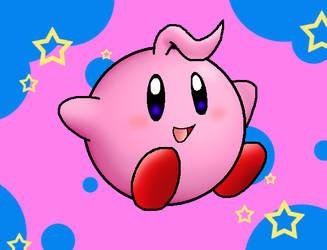 Kid Kirby by Nintendrawer
