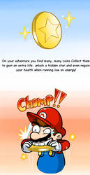 Mario 64 thing: Coins by Nintendrawer