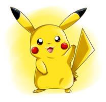 It's a Pikachu! by Nintendrawer