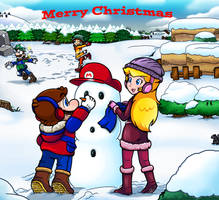Merry Christmas 2018 by Nintendrawer