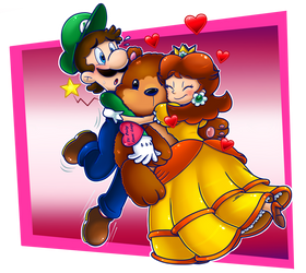Happy Valentine's Day 2019: LxD by Nintendrawer