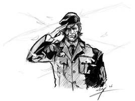 big boss sketch by maifaun