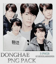 DongHae SPAO [PNG PACK] by NeverlandKorea