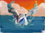 lugia(splash) by lizluvzmudkipz