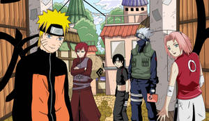 Naruto and Company by Airen-chan