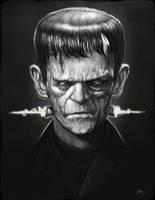 Frankenstein's Monster by RodgerPister