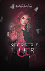 Secrets And Lies | WATTPAD COVER by lokidyinginside