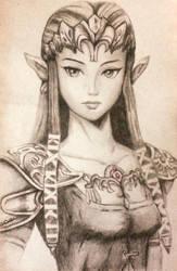 Zelda Sketch by lerod2