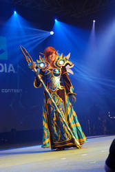 Blizzcon 2009 Costume Front by OrangeMoose