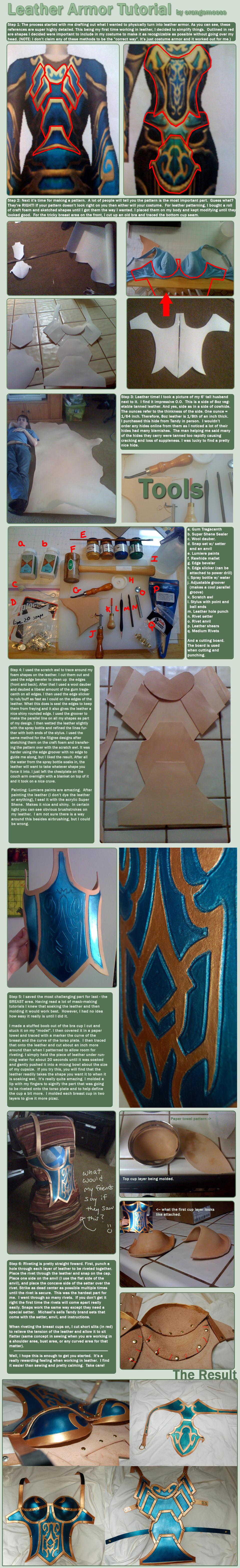 Leather Armor Tutorial by OrangeMoose