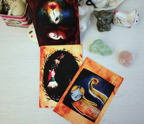 Postcards by LucyBumpkinova