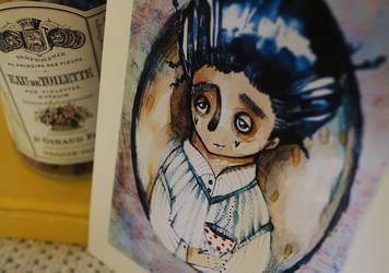 Coffee with Drakula by LucyBumpkinova