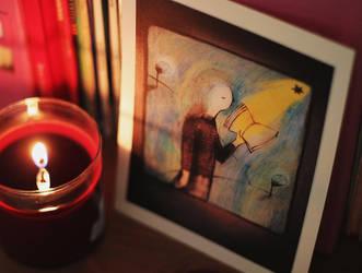 Little soul reading by LucyBumpkinova